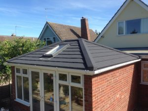 Tiled Conservatory Roofs with Roof Lights