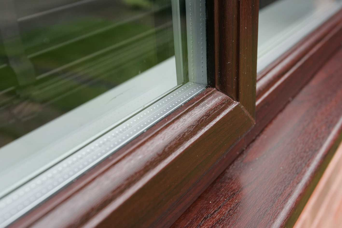 Woodgrain Windows for Conservatories