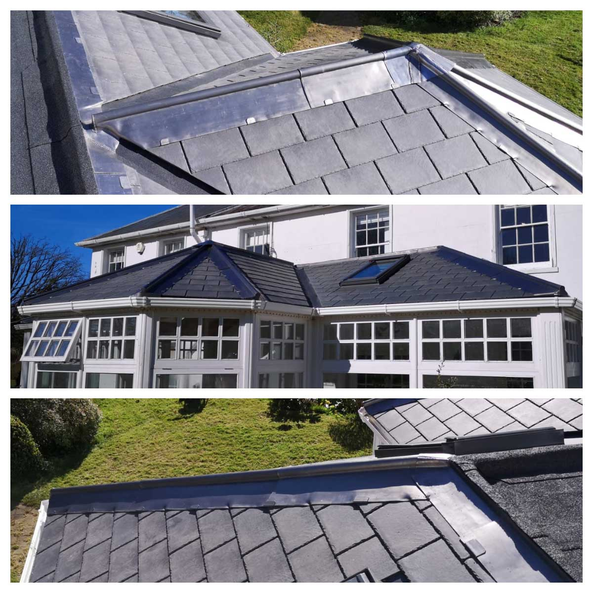 Tiled Conservatory Roofs Apple and Oak